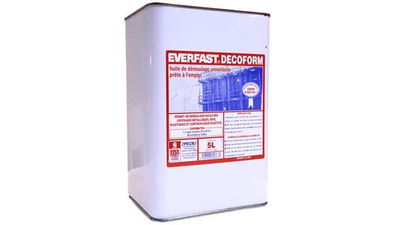 Multi Purpose Formwork Agent Decoform Everfast
